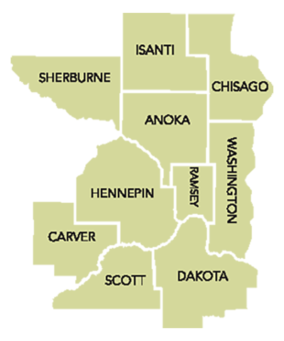 Network County Map